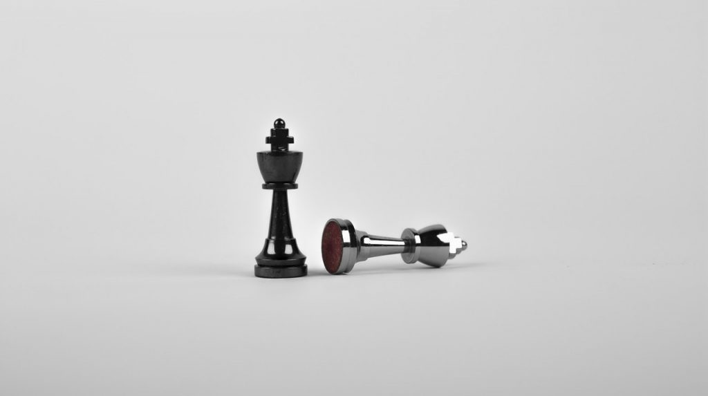 photo of chess pieces representing biosimilar competitive dynamics